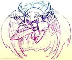 Meta Knight Doodle by JessySketches on DeviantArt