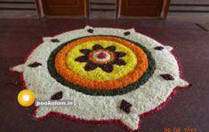 60 Most Beautiful Pookalam Designs for Onam Festival Rangoli Designs Flower, Rangoli Patterns, Colorful Rangoli Designs, Rangoli Ideas, Rangoli Designs Diwali, Diwali Rangoli, Rangoli Designs Images, Flower Rangoli, Flower Designs