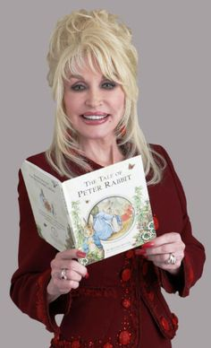 Dolly Parton.  Sometimes she reads books with big words in them.