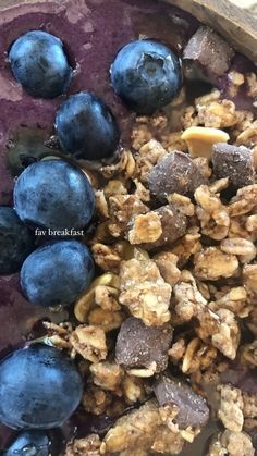 Smoothie Bowl, Plant Based, Blueberry, Healthy Eating, Vegan, Fruit, Plants, Food, Eating Healthy