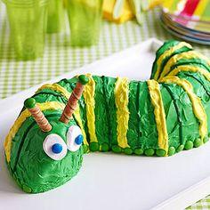 Pin to Win! Birthday Cakes Galore: A Very Yummy Caterpillar (via Parents.com)