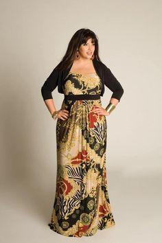 Plus size maxi dress 2014