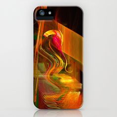Passionate Turmoil iPhone Case by Art-Motiva - $35.00