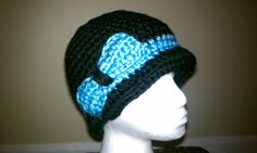 Crochet Cloche with Bow