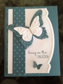 Beautiful Butterfly Bigz Die, Beautiful Wings Embosslit, Adorning Accents Edgelit and Embossing Folder in Pacific Point