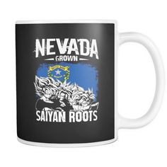 Super Saiyan Nevada Grown Saiyan Roots 11oz Coffee Mug - TL00155M1