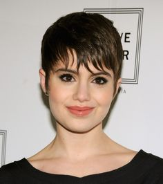 Take a cue from Sami Gayle's edgy pixie