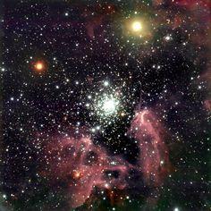 The Galactic Starburst Region NGC 3603 [2772 x 2772]