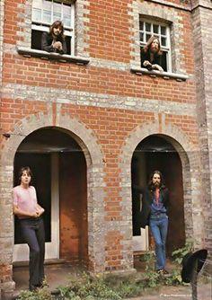 The Beatles last photo session, Aug. 1969
