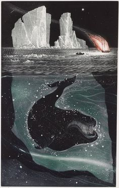 Fire, ice and whales: etchings of Newfoundland by David Blackwood