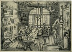 The goldsmith's workshop