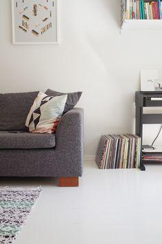 Hanna Konola and Jukka Koops have lived in their apartment, located in the Käpylä neighborhood of...