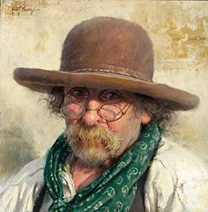 """The Hat Maker"" - by Scott Tallman Powers."