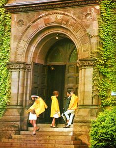 from TAKE IVY- a classic, yellow slicker!