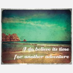 I am in need of an adventure...Where to next?