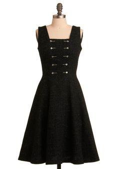 Vintage Chalkboard Charmer Dress, #ModCloth