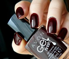 Polish My Nail: Avon - Gel Finish Wine and Dine me.
