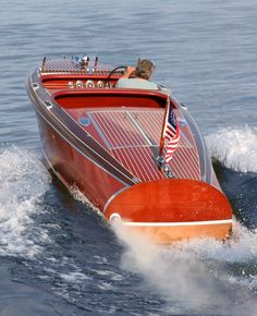 1946 Chris Craft Deluxe Delux Runabout 17 foot for sale by ...