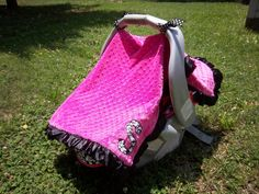 Car Seat Canopy: Made to Order. $25.00, via Etsy.