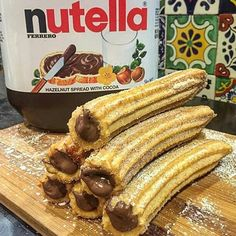 Churr'not gonna touch these .  Quiz Of The Day .  What country is churros from ?  When do you normaly eat these babies ? . Answer down below  . Picture credit @spanishdoughnuts by realfoodz