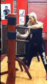 Wooden Dummy - Wing Chun