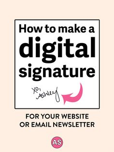 Have you wondered how to make a digital signature like what you see on websites and at the bottom of email newsletters?Click here to see the step-by-step video tutorial showing you how to make a digital signature in less than 5 minutes!This is perfect for holistic nutritionists, health coaches, essential oil business owners, or yoga teacher