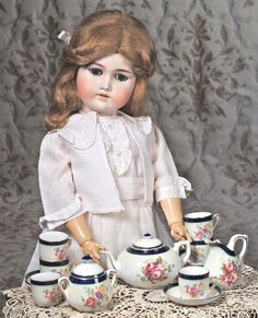 German Bisque Doll By C.M. Bergmann.