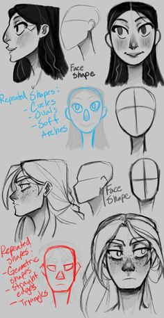 College Work, Alara and Dagny Concepts Pt. 1 by the-Orator — Character Design