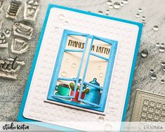 STUDIO KATIA – DESIGN BLOG Thanks A Latte, Pure Happiness, Gift Certificates, Coffee Lovers, Color Card, Hello Everyone, Grid, Mosaic, Spring Summer