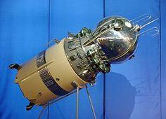 Vostok spacecraft model
