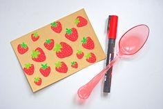More on http://365postcardsproject.tumblr.com #365postcards #365projectlife #365 #godsavetheteatime #illustration #strawberry