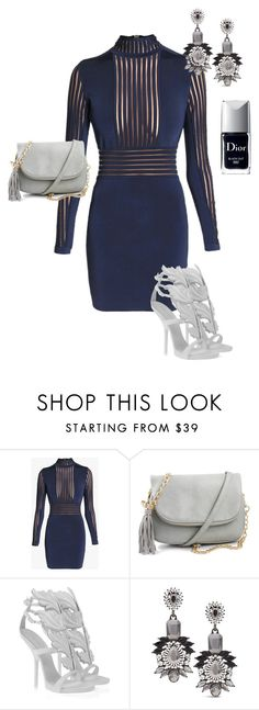 """""""#9"""" by caitbrookexo on Polyvore featuring Balmain, Giuseppe Zanotti, Chico's, Christian Dior, women's clothing, women, female, woman, misses and juniors"""