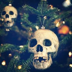 """OP: """"I need ornaments like this for my black tree.""""  Great idea!"""