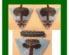 Kaleidoscope Disc Ornament Cover Tutorial Instant by Violetbead