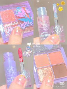 Makeup Goals, Makeup Kit, Skin Makeup, Makeup Inspo, Beauty Makeup, Kawaii Makeup, Cute Makeup, Pretty Makeup, Peach Makeup