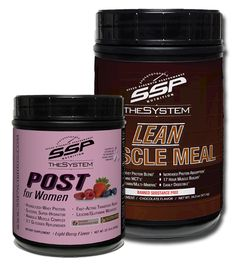SSP Nutrition - Women's Recovery Canister Set, $84.99 (http://www.sspnutrition.com/womens-recovery-canister-set/)