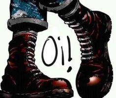 Skinhead Boots, Skinhead Fashion, Punk Fashion, Punk Art, Arte Punk, Dr. Martens, Botas Dr Martens, Punk Rock, Skinhead Tattoos