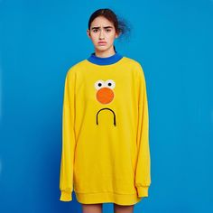 """""""London-based fashion brand @LazyOafs has collaborated with viral cartoon series Don't Hug Me I'm Scared. The collection, shot by photographer…"""""""