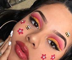 Makeup Eye Looks, Eye Makeup Art, Crazy Makeup, Pretty Makeup, Eyeshadow Makeup, Drugstore Makeup, Eyeshadow Palette, Green Eyeshadow, Makeup Trends