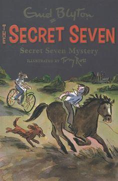 Secret Seven mystery / Enid Blyton. The Secret Seven, Enid Blyton Books, Running Away From Home, Famous Books, Early Readers, Little Sisters, Childrens Books, Mystery, Reading