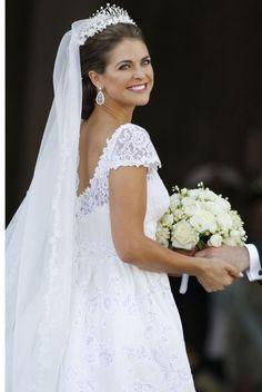 Sublime Madeleine à son mariage