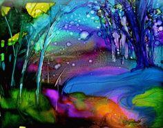 Evening Stream by linfrye ..