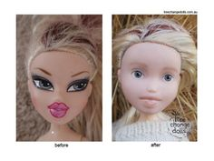 "The ""Make-Under"" Before And After Photos Of These Bratz Dolls Will Leave You Amazed - Viral Socially"