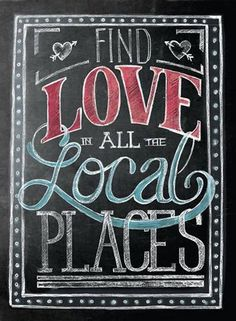 Love is in the air.for shopping local that is! Embrace it by finding a locally-owned business to support, we make it easy with our one-of-a-kind. Small Business Quotes, Small Business Saturday, Business Signs, Support Small Business, Business Ideas, Buy Local, Shop Local, Store Window Displays, Sandwich Board