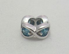 New & Authentic Endless Sky Blue Heaven with Cz Sterling Silver Charm  #Endless now available at Keswick Jewelers in Arlington Heights, IL 60005 P: 847.394.9365
