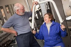 senior-exercise. Moving outside your home you can meet nice people and find new social life !