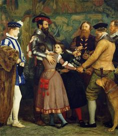 John Everett MILLAIS  The Ransom 1860-62