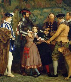 John Everett MILLAIS The Ransom 1860-62 - Large Size Paintings