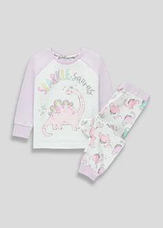 4-13yrs Girls Mermaid  Cold Shoulder Nightie Nightwear
