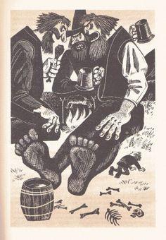 Soviet Era Hobbit Illustrations